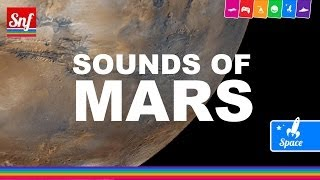 The sound of Mars - Recored by Voyager