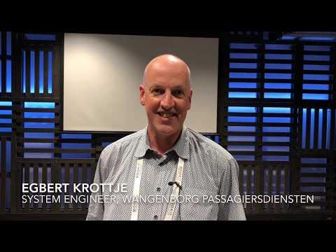 Egbert Krottje at Wagenborg Passagiersdiensten