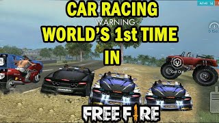 What the F**k😧It's Free Fire or NFS   Free fire room match car racing game play run gaming