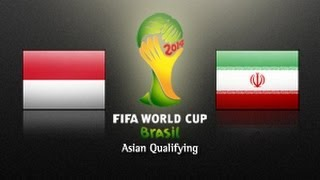 Indonesia Vs IR Iran: 2014 FIFA World Cup Asian Qualifiers - (Round 3, Match Day 5) width=
