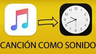 Configurar canción de Apple Music como sonido de alarma