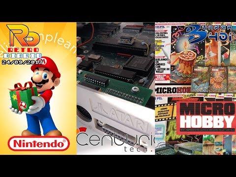 RetroDiario Noticias Retro (24/09/2017) #0006 - Microhobby, Cumpleaños Nintendo, Pilotwings
