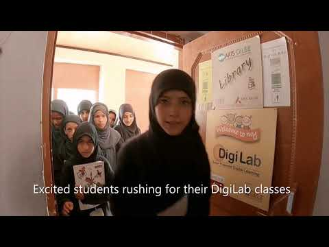 Gift of Digital Learning to the children of remote Ladakh