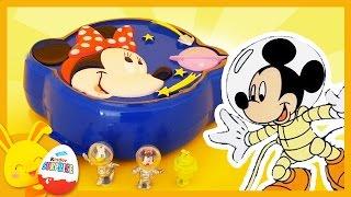 Mickey et Minnie dans l'espace - Histoire et jouet Polly Pocket pour les enfants - Touni Toys