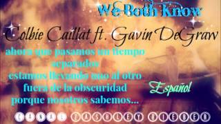 We both know - Colbie Caillat ft Gavin Degraw - Español