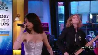 """Selena Gomez And The Scene """"Naturally"""" (Live At Good Morning America)"""