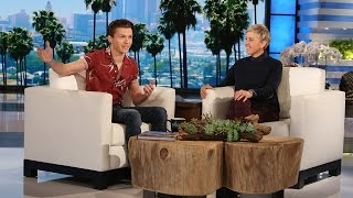 How Tom Holland Found Out He Was Spider-Man