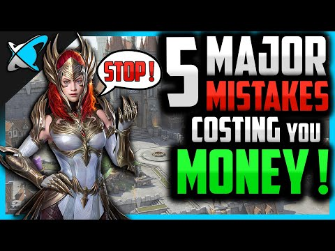 "5 ""MAJOR"" MISTAKES ...Costing You MONEY !? 