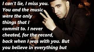 Drake: Shot For Me Lyrics