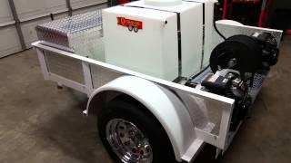 Detrailers Mobile Auto Detail & Car Wash Trailer