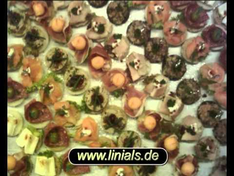 Beispiel: Fingerfood für Köln seit 1998, Video: Linials Catering.