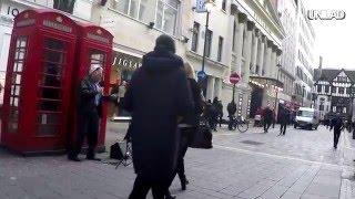 old man sings Stormzy 'shut up'