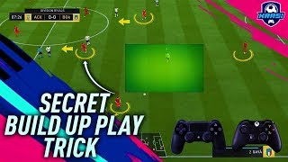 FIFA 19 SECRET BUILD UP PLAY TRICK - HOW THE NEW GOAL KICK IN FIFA19 ACTUALLY WORKS - TUTORIAL