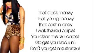 Nicki Minaj-Grindin Makin Money(lyrics verse)