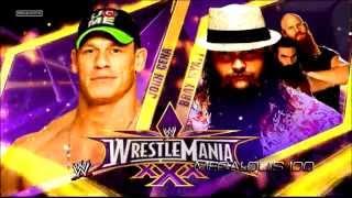 WWE Wrestlemania 30 Match Card - John Cena vs. Bray Wyatt [HD]