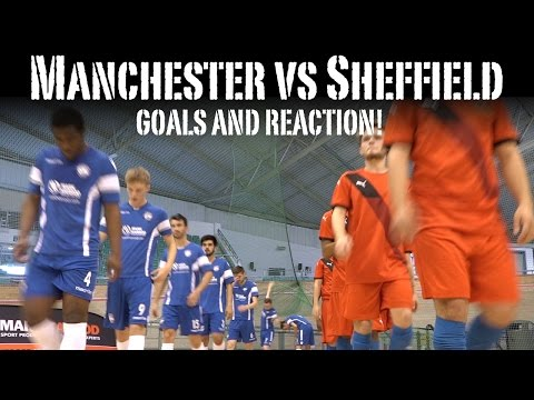 Manchester Futsal Club vs Sheffield FC Futsal Club 09.10.16