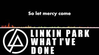 Linkin Park What I've Done w/ lyrics (audio spectrum)