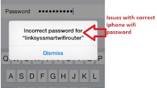 WIFI PASSWORD INCORRECT ISSUE RESOLVED ON IOS