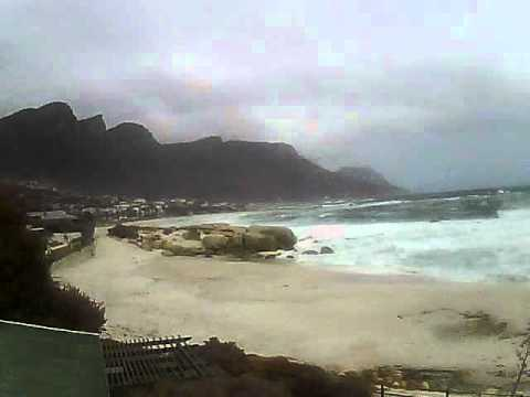 Timelapse Video – Glen Beach & Camps Bay – 28/05/2011