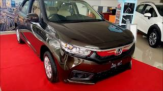 2018 All New Honda Amaze S Base Variant - First Look !!