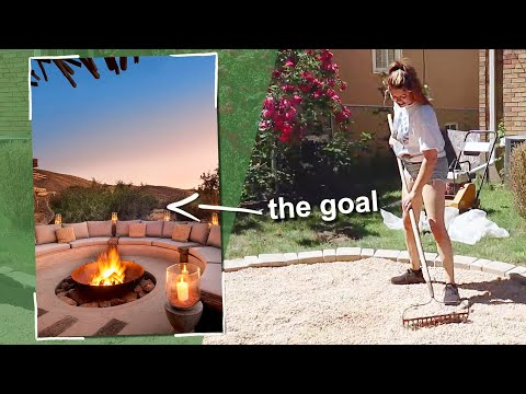 i totally transformed my outdoor space! (desert vibes patio makeover)