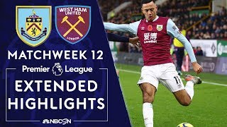 Burnley v. West Ham United   PREMIER LEAGUE HIGHLIGHTS   11/09/19   NBC Sports