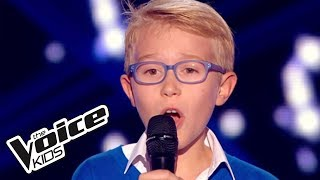 The Voice Kids 2015 | Ethan - Caresse sur l'océan (Les Choristes) | Blind Audition