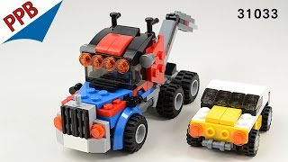 Lego Creator: Tow Truck / Lego stop motion animation build 31033