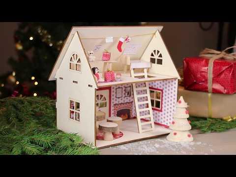 DIY: Jultomtens hus