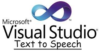 VB.NET - Text to Speech