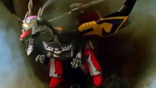 Power Ranger Mystic Force | Batalla con los zords - Formación Dragón