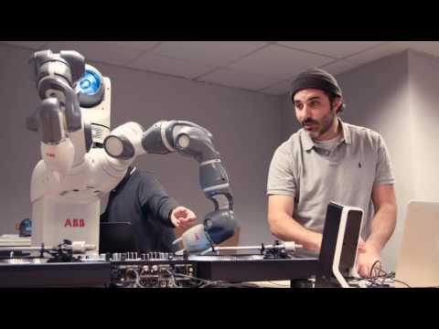 Ford Robot hits the decks with DJ Yoda