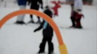 Lyžařská škola pro nejmenší děti