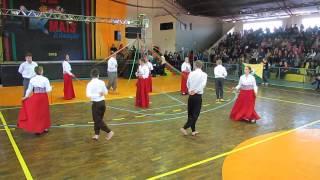 Apresentação de Dança Portuguesa no evento Novo olhar para Canguçu