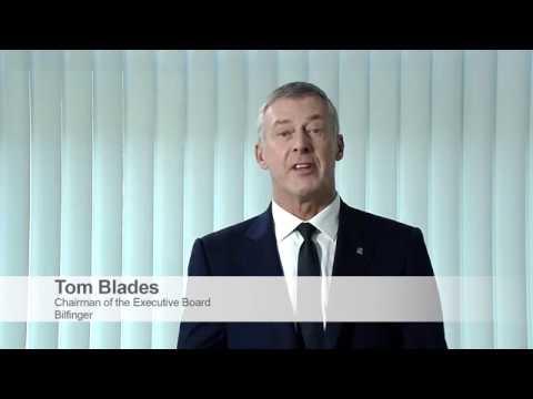 Digitalization with Bilfinger - Statement by CEO Tom Blades