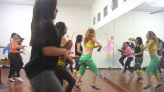 """""""Pa Que Baile""""/Blad MC -Zumba® fitness class with ilanit"""