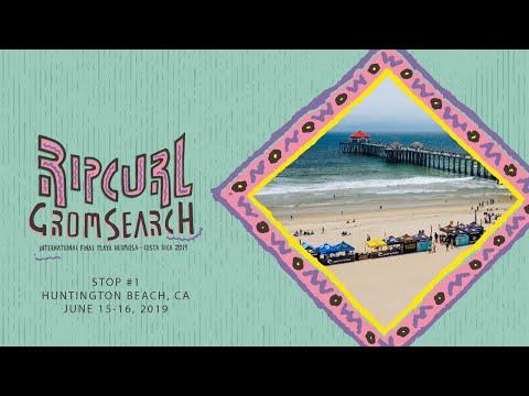 2019 Rip Curl GromSearch Event 1 - Huntington Beach, CA!