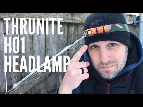 BRAND NEW Thrunite H01 Headlamp: Light-weight, Almost 700 Lumens, Less than $30