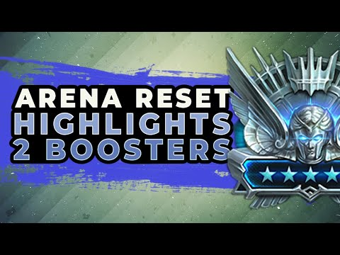Two boosters this week on arena raid shadow legends (arena reset highlights)