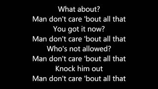 JME - Man Don't Care ft. Giggs (Lyrics)
