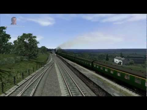 Train Simulator 2012 Gameplay – A4 Pacific Class Add-On