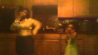My Little sister Naisha and my niece Saniya dancing to Khalil Sharieff's just like ice cream :)