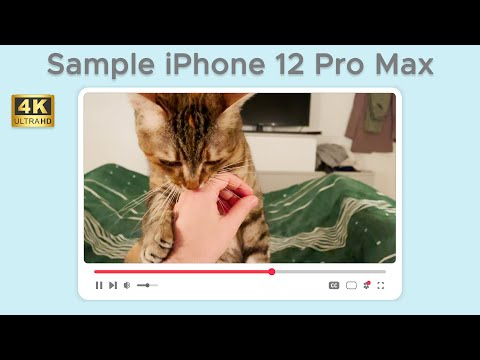 Test di ripresa da iPhone 12 Pro Max in  …