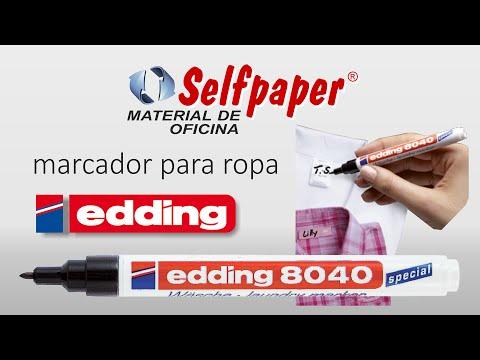 Edding 8040, rotulador para marcar ropa HD - www.selfpaper.com