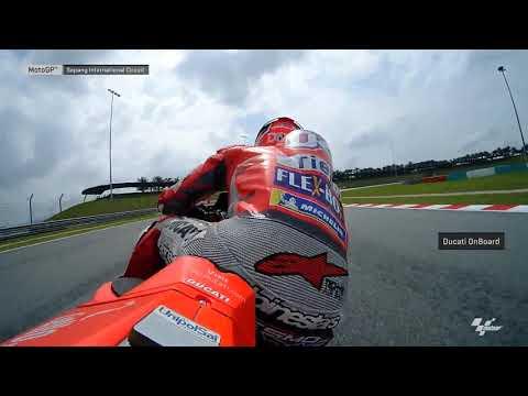 Ducati OnBoard: 2018 Shell Malaysia Motorcycle Grand Prix