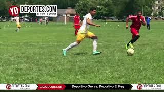 Deportivo Oro vs. Deportivo El Rey Liga Douglas