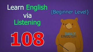 Learn English via Listening Beginner Level | Lesson 108 | Getting Old