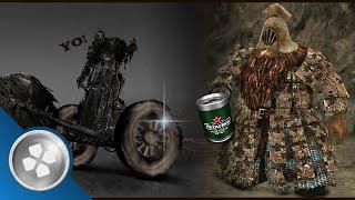 Dark Souls 2: Lata de Cerveja e Pneu Escondidos...