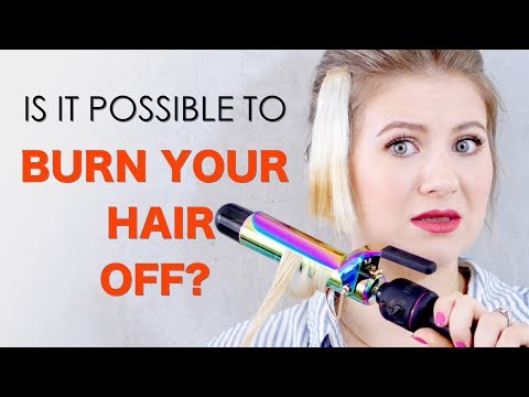 IS IT POSSIBLE TO BURN YOUR HAIR?!