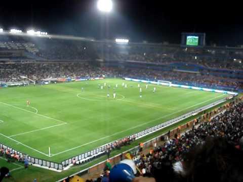 South Africa Football – ITALY VS U.S.A (15/06/2009) LOFTUS PRETORIA